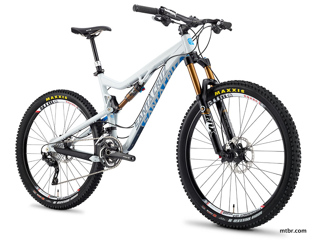 Santa Cruz Bronson Aluminum Bike in White