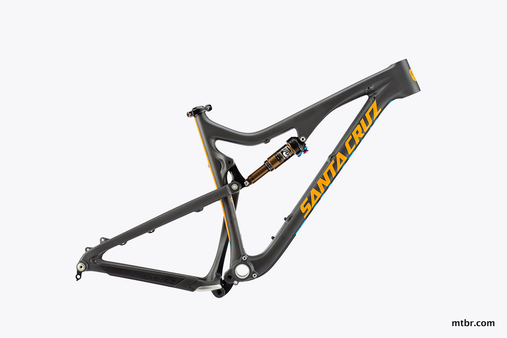 Santa Cruz Bronson Carbon Frame in Black