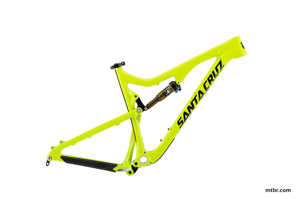 Santa Cruz Bronson Carbon Frame in Yellow