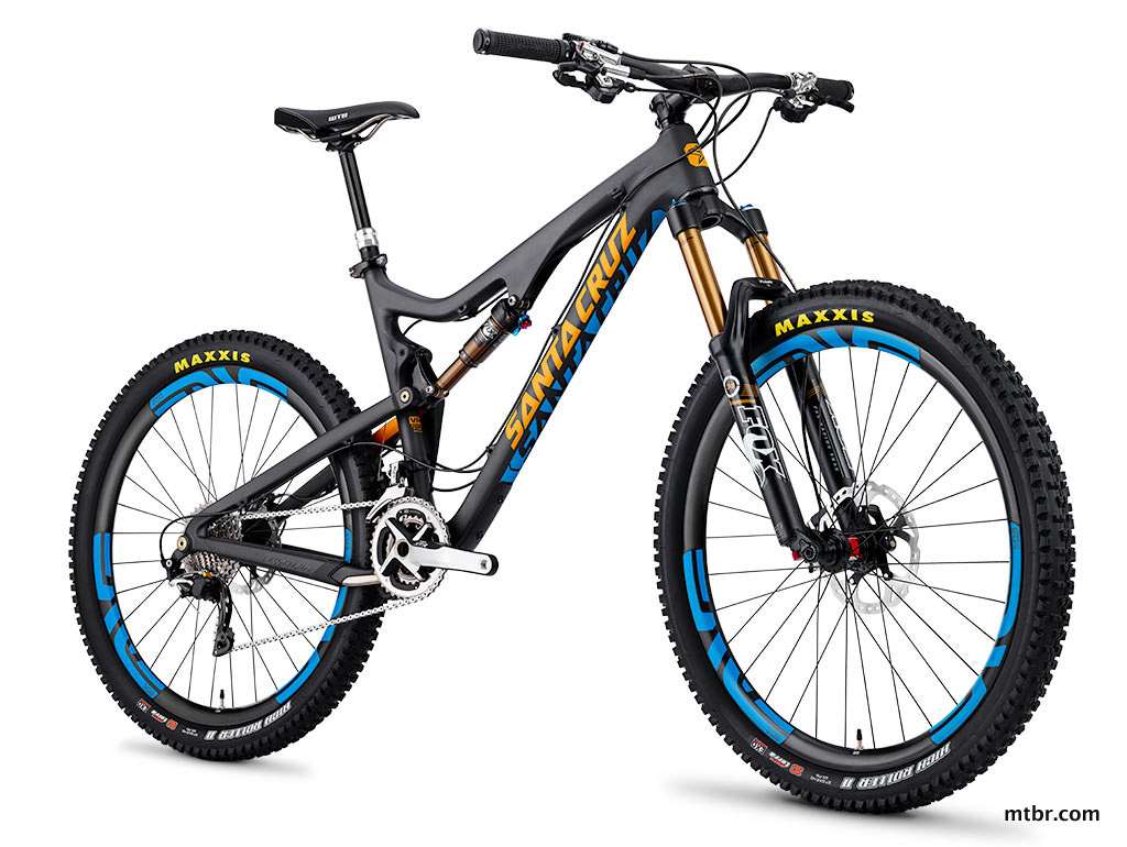 Santa Cruz Bronson Carbon Black