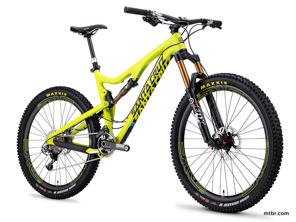 Santa Cruz Bronson Carbon in Yellow