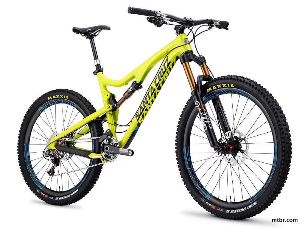 Santa Cruz Bronson Carbon Yellow