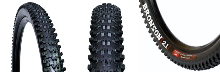 WTB Bronson Tire - Three different viewpoints