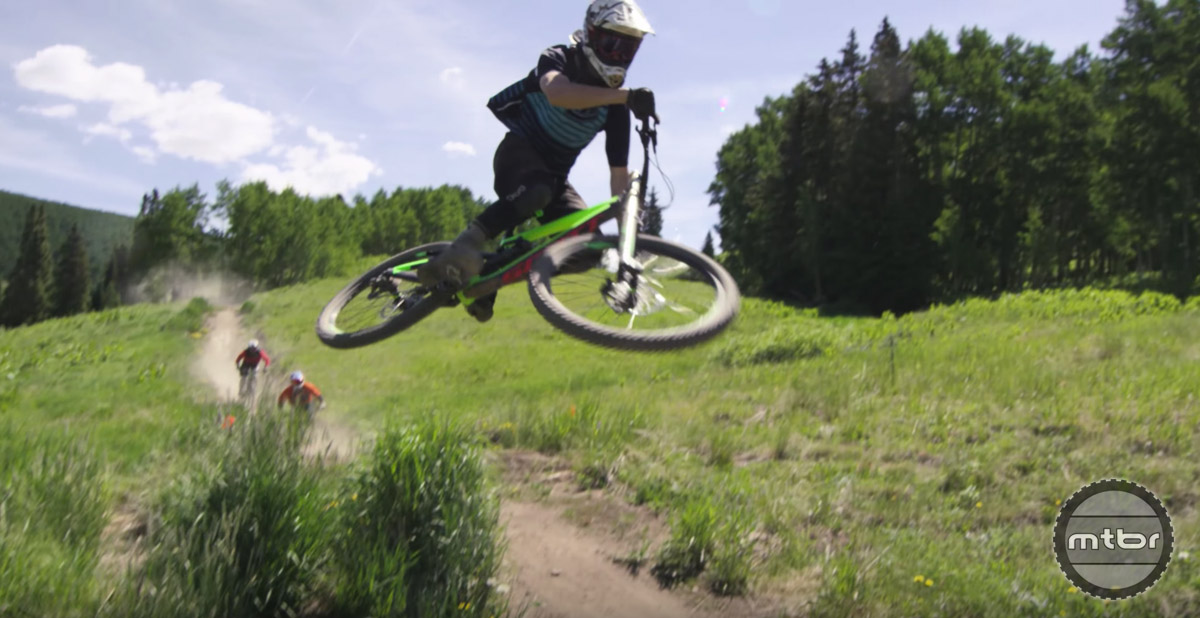 Crested Butte's bike park has 29 trails that cover 30 miles.