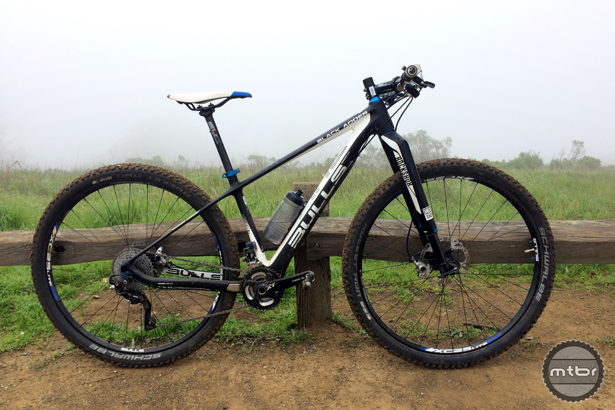The Black Adder 29 from Bulls offers the most affordable mountain bike equipped with a RockShox RS-1 fork.