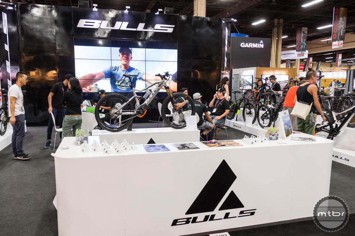 Bulls Bikes Interbike 2017 Booth