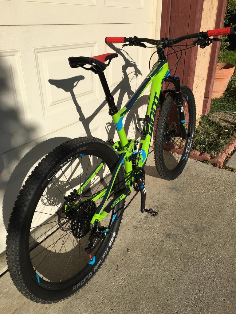 My First Fs Mountain Bike Anthem Advanced Sx Mtbr Com