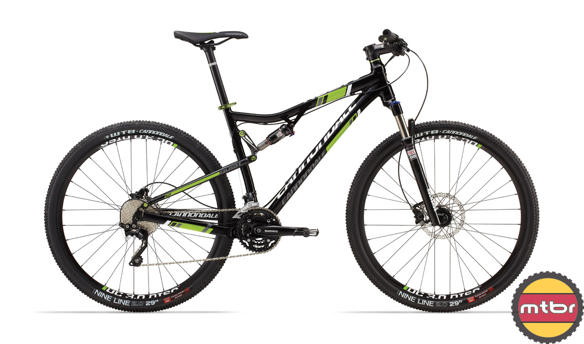 Cannondale Rush - 1 team colors