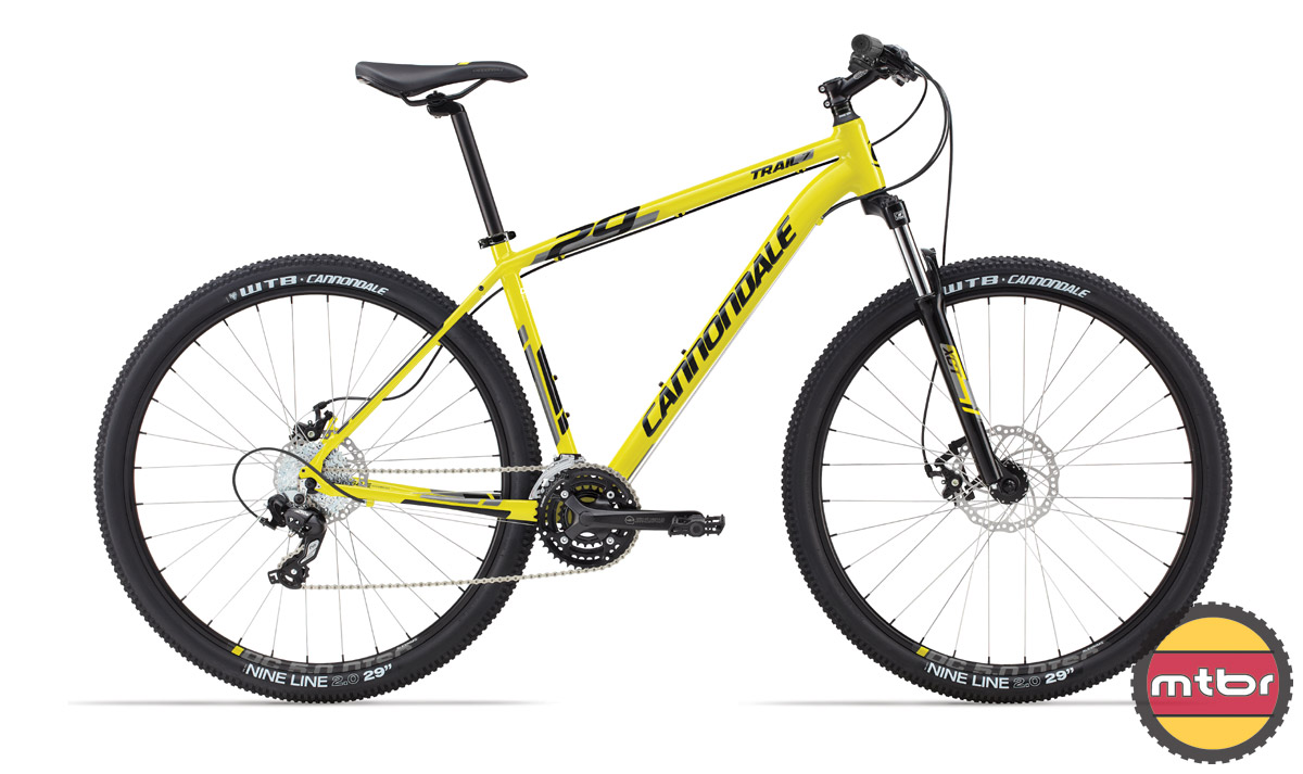 Cannondale Trail 29 7 - yellow