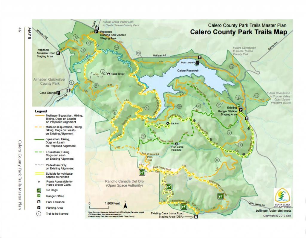 Quicksilver County Park Trail Map - Park Imghd.Co