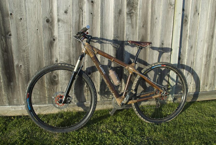 Calfee Bamboo 29er bike