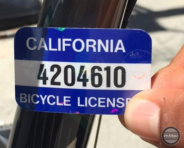 Local police departments are responsible for their own databases, but the CA DMV keeps track of which police agency has the information pertaining to a specific license.