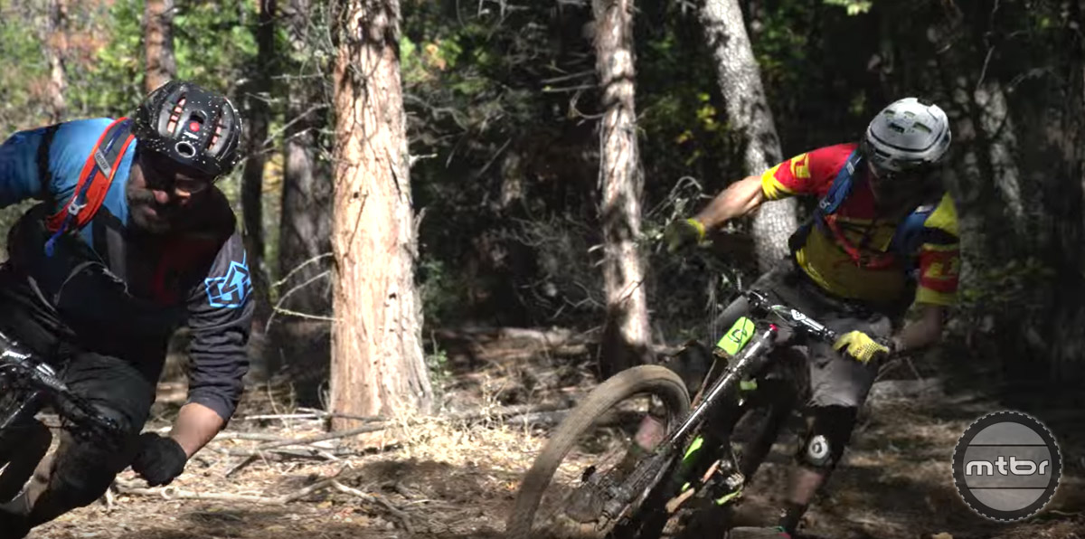 This pair of prolific pro racers have been shredding trails together since before Cruz could legally drive a car.
