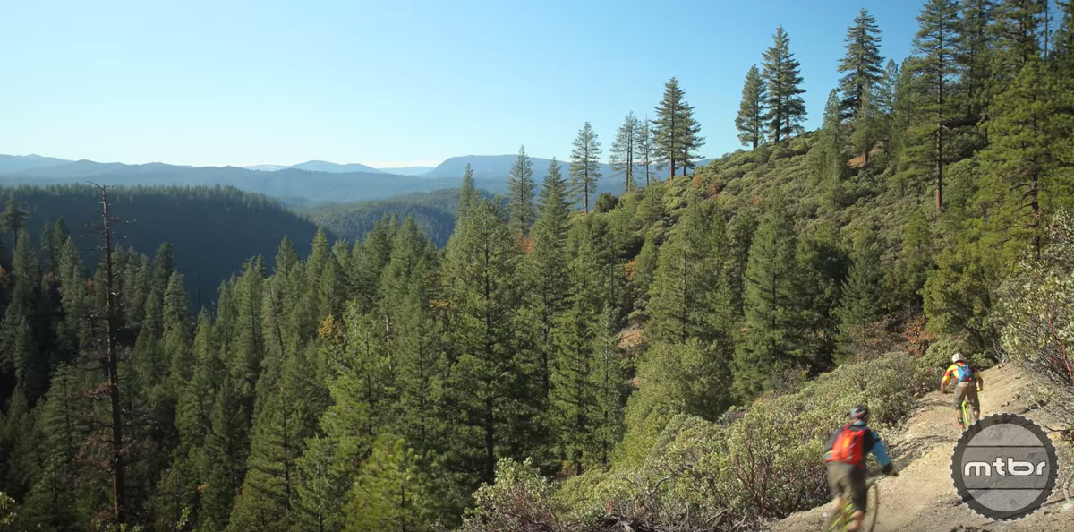 Sublime views are common on the trails of the Sierra foothills.