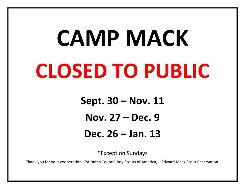 Lancaster Area - Camp Mack trails closed during hunting season-camp-mack-2017-hunting-sign-v2-.jpg