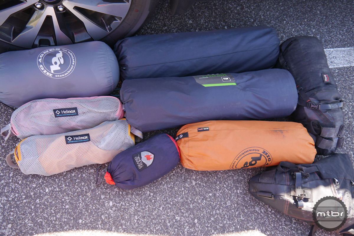 Being prepared for a variety of adventures can be challenging. Do you carry only lightweight camp gear so you can be ready for that last minute bikepack or backpack trip? Should we carry the heavier, more comfortable sleeping pads and bags for those cold nights car camping? These are all decisions that are factored in depending on where you are headed and what your adventure goals are.