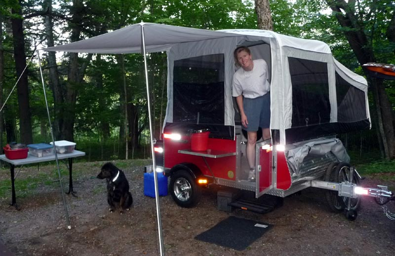 car camping riding tours bathing set up. Black Bedroom Furniture Sets. Home Design Ideas