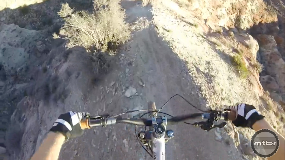 Riding King Kong on a Trail Bike