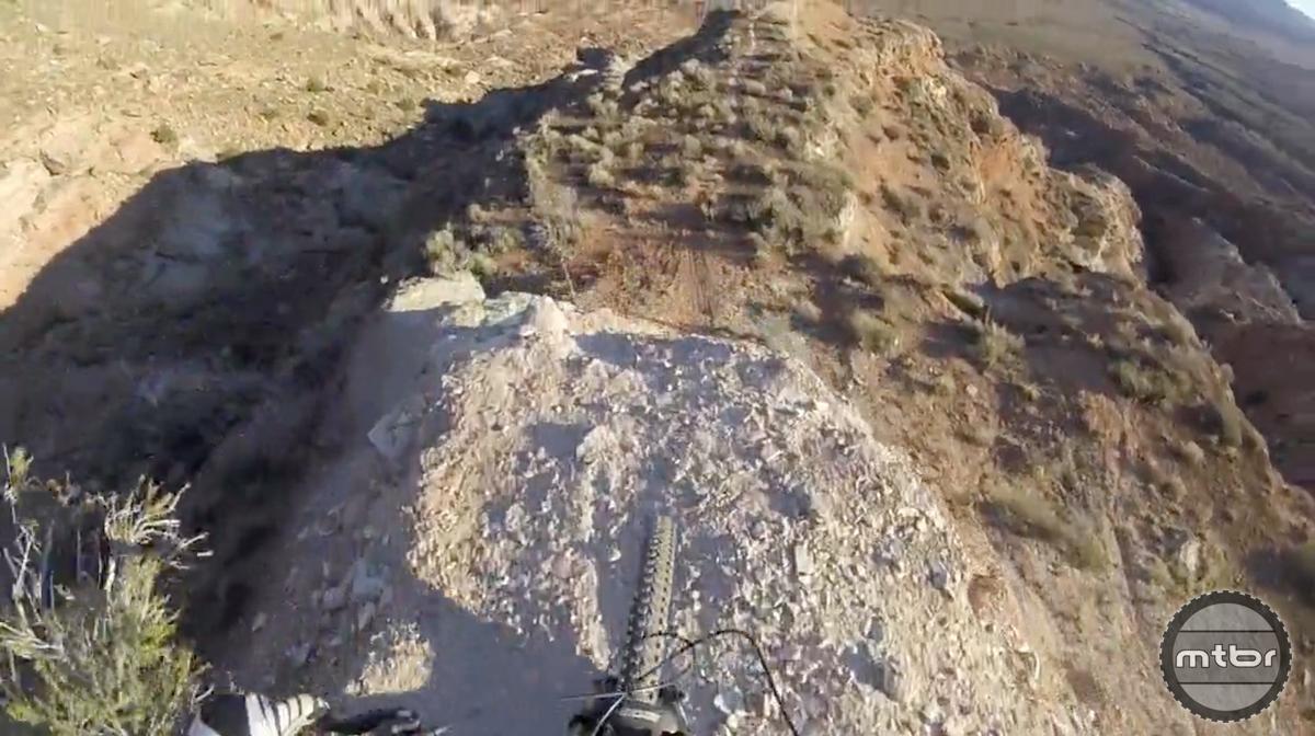 Riding King Kong on a Trail Bike