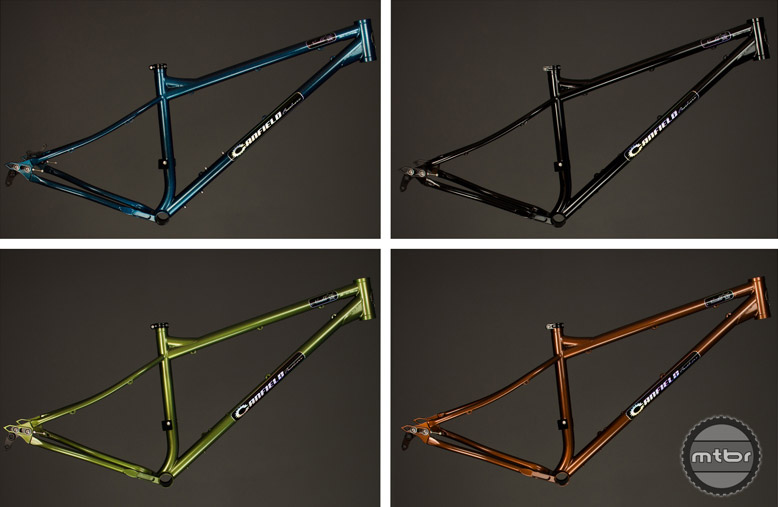 Frame color options include sparkle metallic black, blue, green, or bronze.