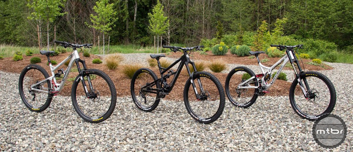 For the first time in company history, Canfield Brothers is offering complete bikes.