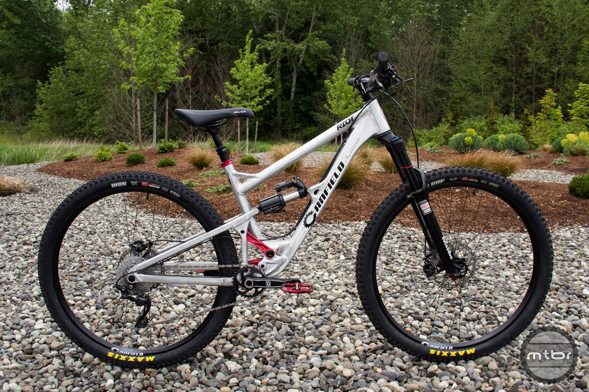 The Riot is Canfield Brothers playful 140mm 29er trail bike.