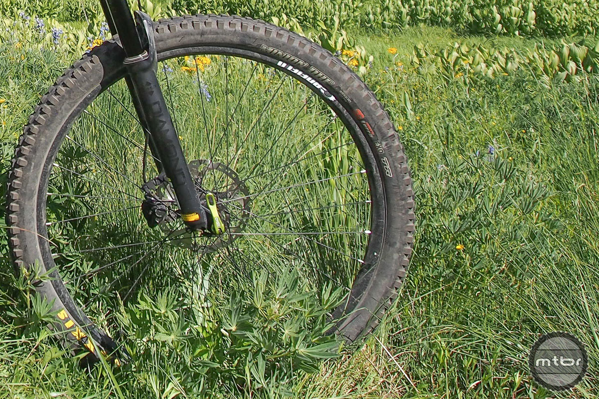 The alloy Canfield wheels were solidly reliable, standing up to a fairly hard four-month thrashing.