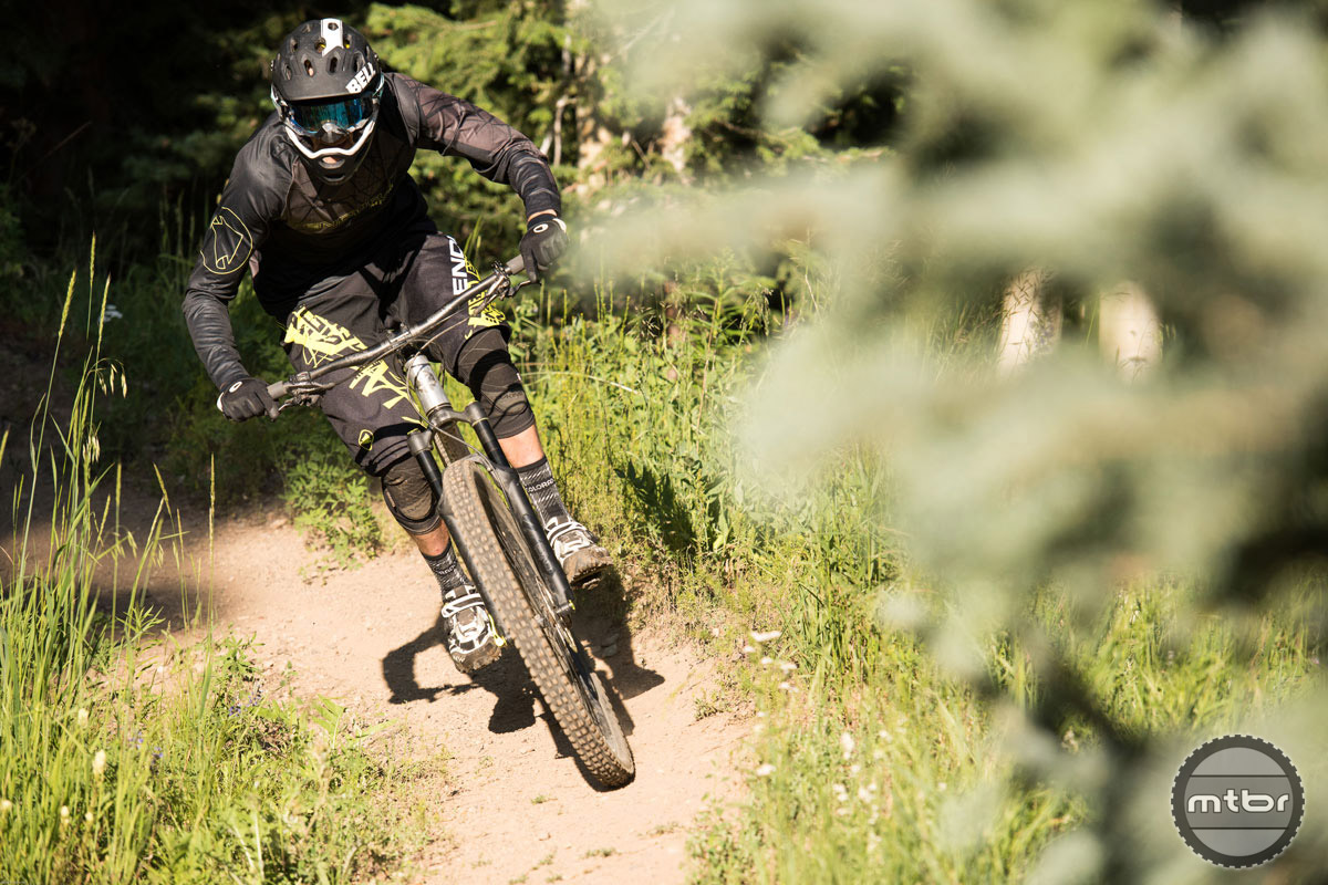 The Riot was right at home at the Crested Butte and Snowmass bike parks. Photo by Dave Kozlowski