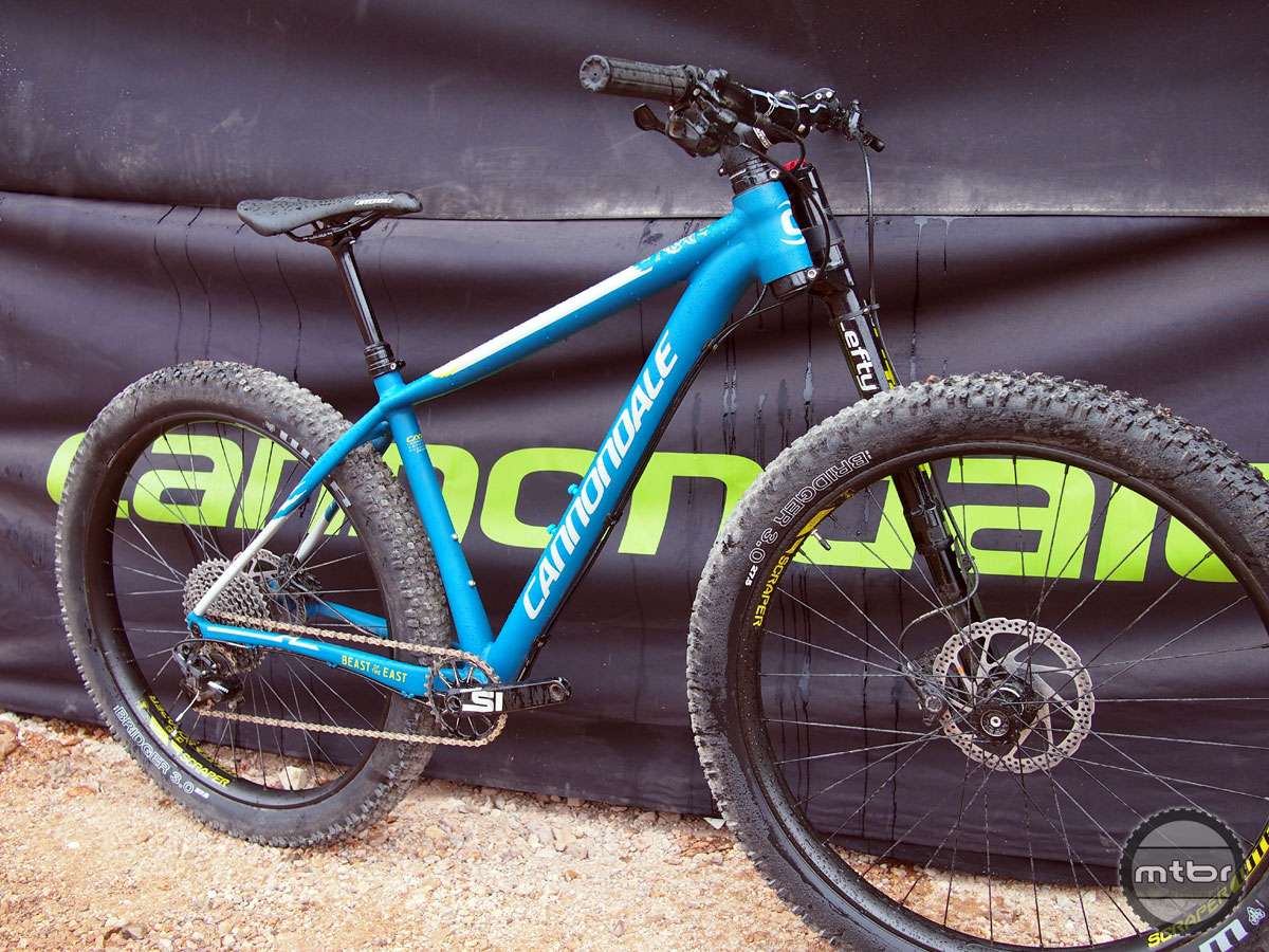 Available in three models, the Beast of the East is an alloy framed hardtail equipped with a Lefty fork (for the Beast 1).