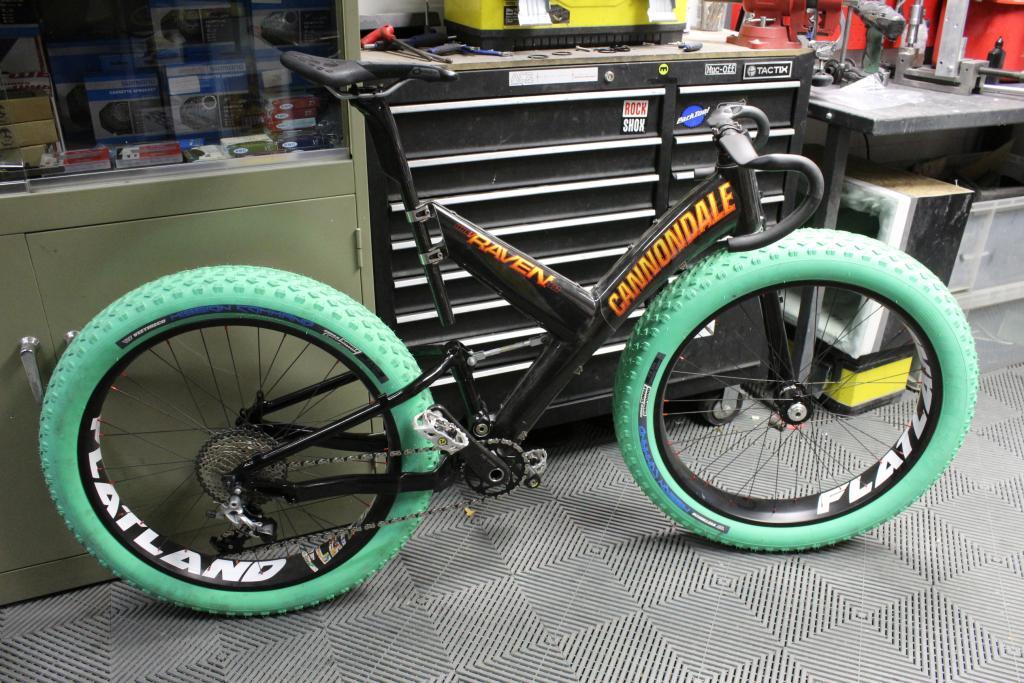 Super V Fat Bike With Lefty Mtbr Com