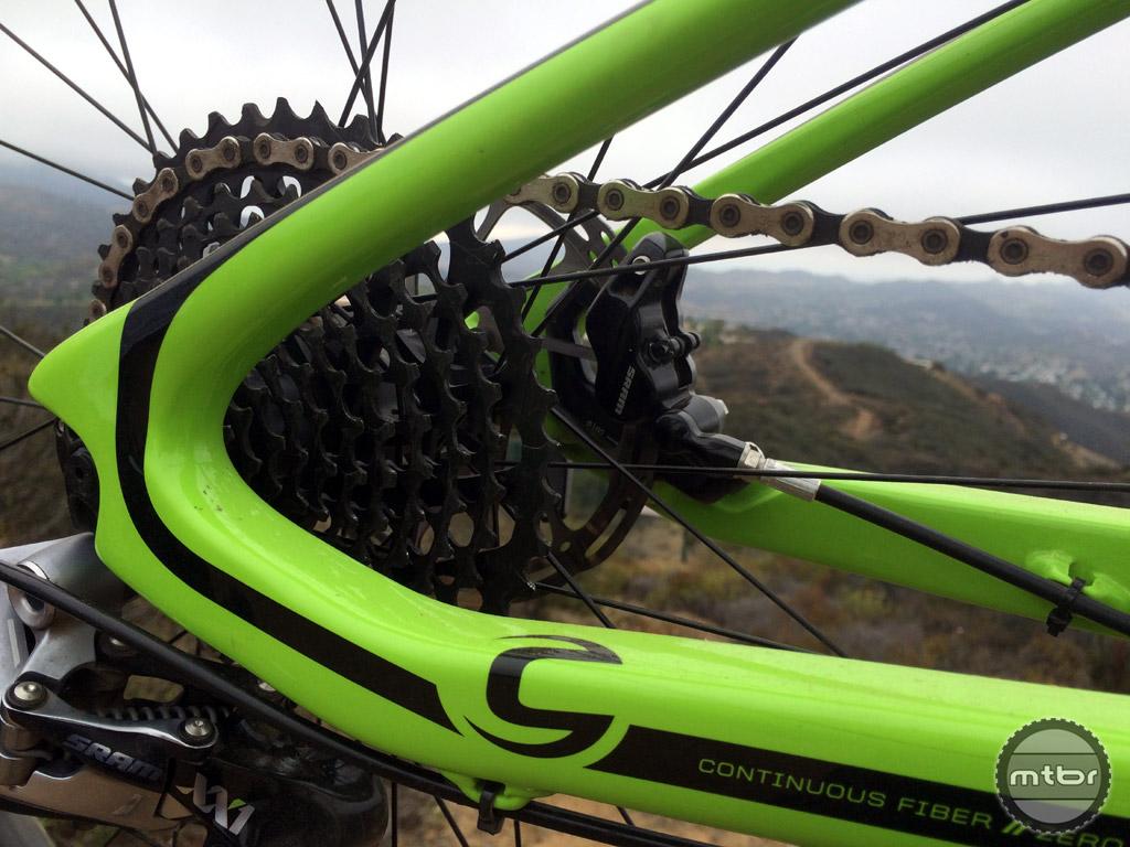 Cannondale Habit - rear chainstays
