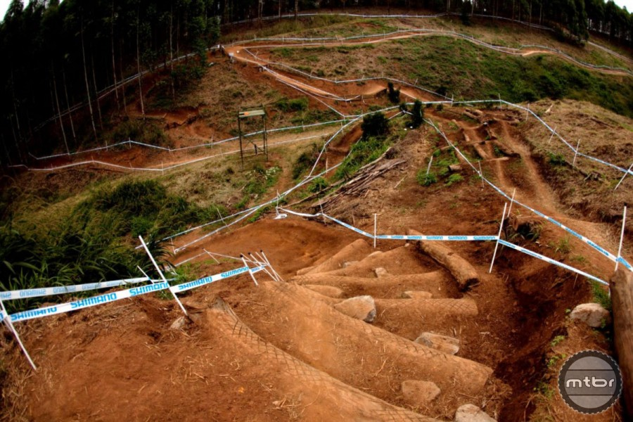 Most of us probably associate XC with buffed out singletrack or fireroad, but modern XC tracks are downright technical.