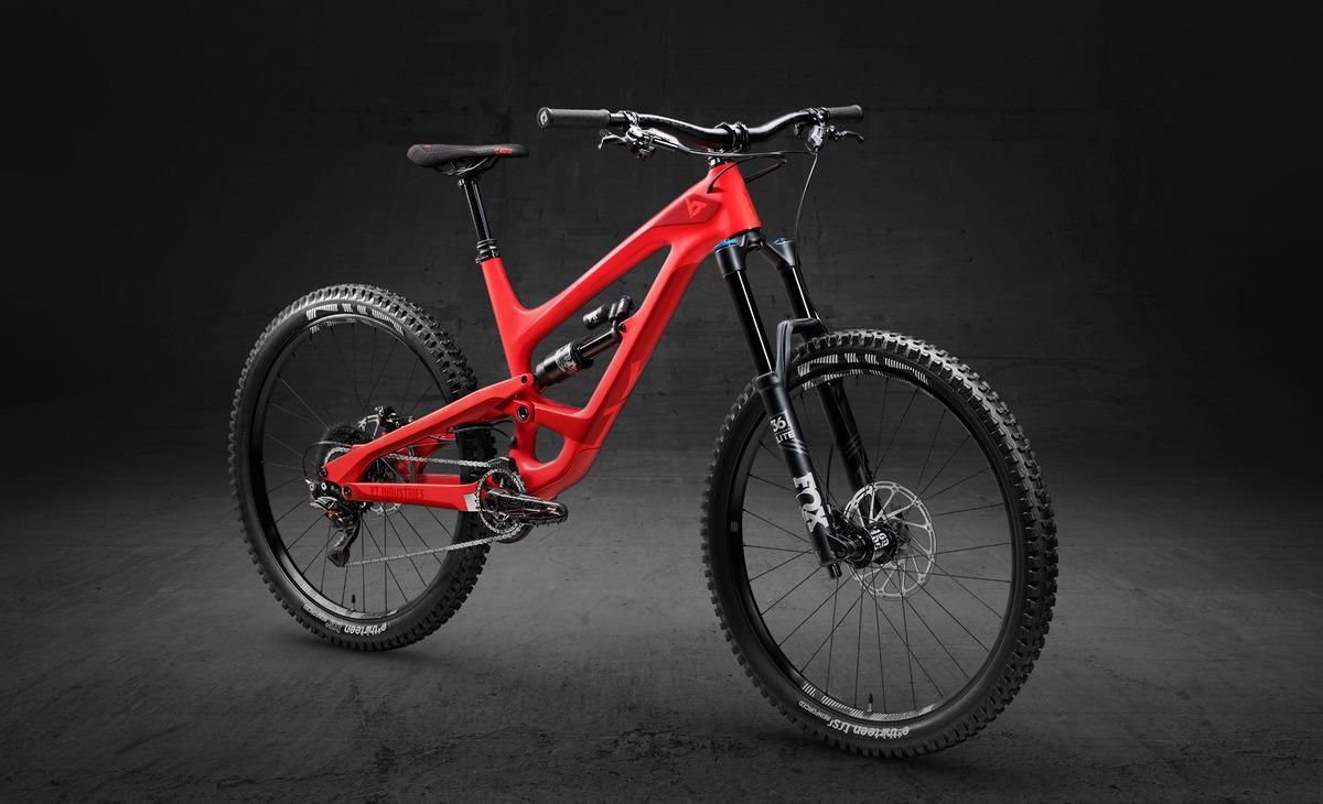 YT Capra 27 Carbon Fiber Pro in blood red color