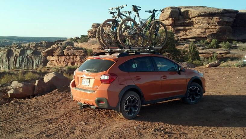 Crv Vs Outback Crosstrek Car Top Horsethief Switchbacks