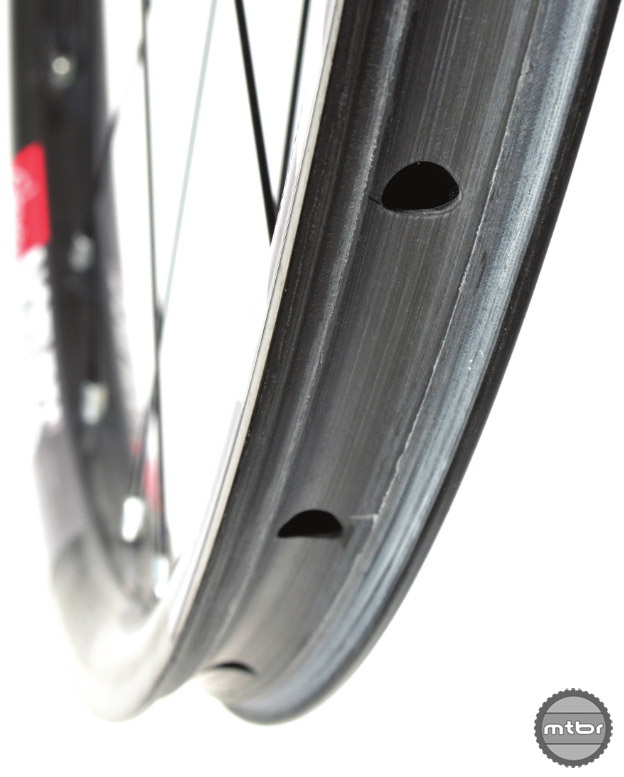 An example of the rim profile pioneered by Stan's.