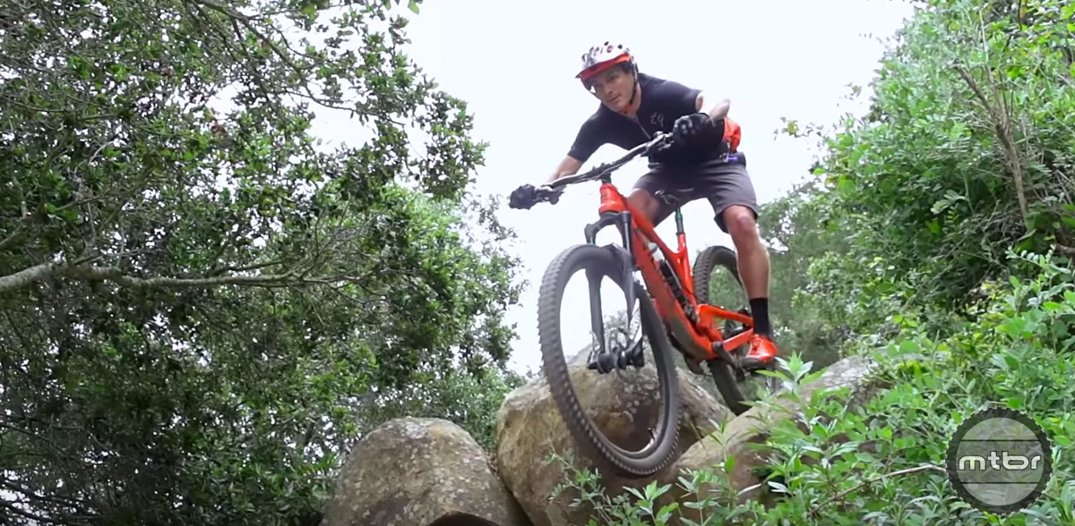 Carbon generally does a better job of damping or absorbing vibrations from trail irregularities, while aluminum transmits more of those vibrations into your hands.