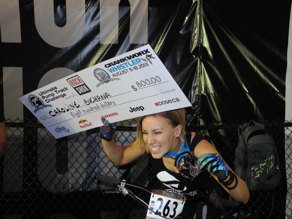 Airborne's Caroline Buchanan takes 2nd at Crankworx Ultimate Pump Track Challenge!-caroline-check-small.jpg