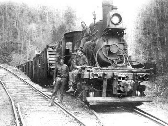 History of Pisgah's squirrel gap trail?-carr_train_1.jpg