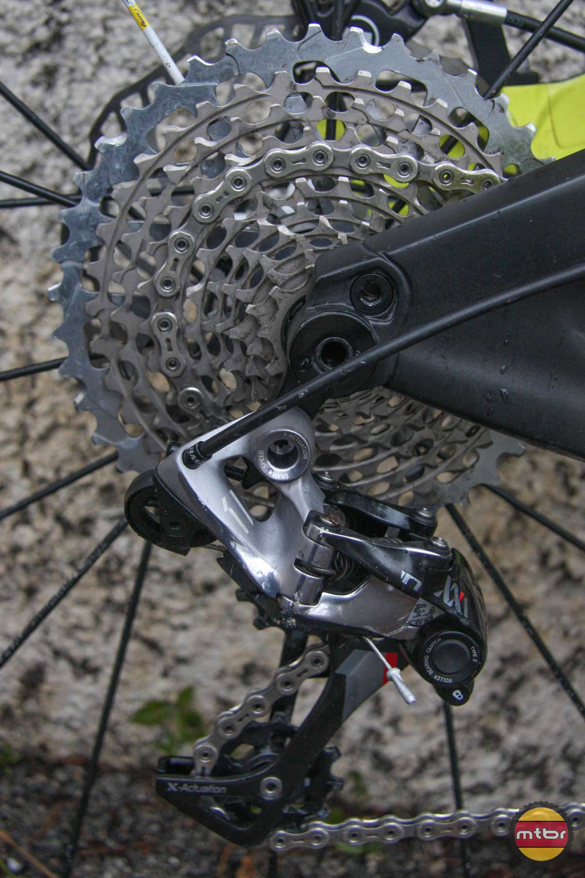 Cassette and Derailleur