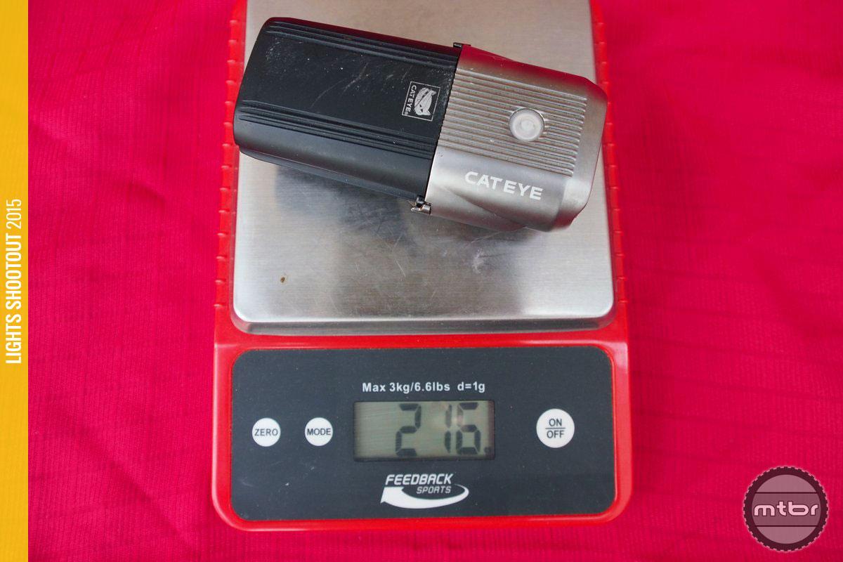CatEye Volt 1200 Weight