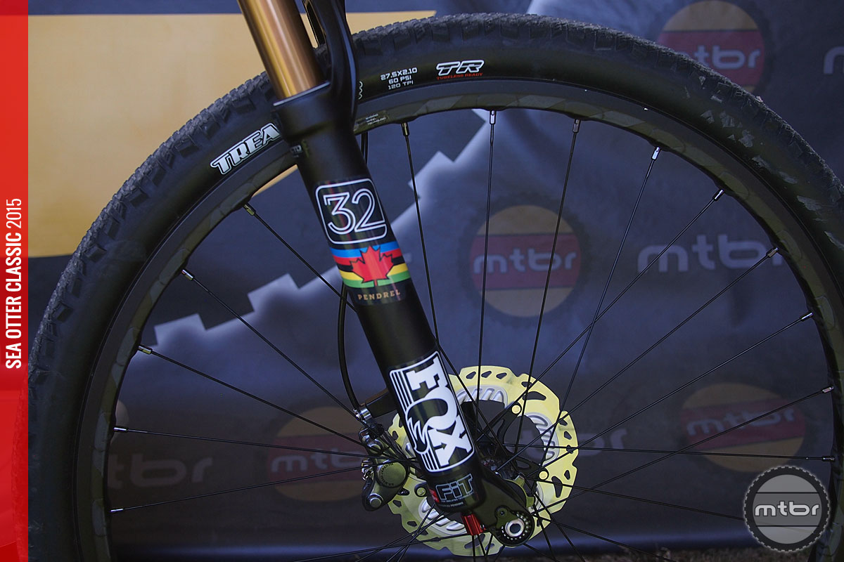 Orbea's Oiz features their Big Wheel Concept.