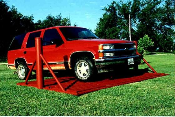 The Red Suburban Parked on a Cattle Grate Thread-cattle_guard_2.jpg