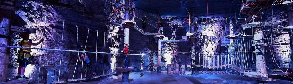 Mega Cavern - ropes course