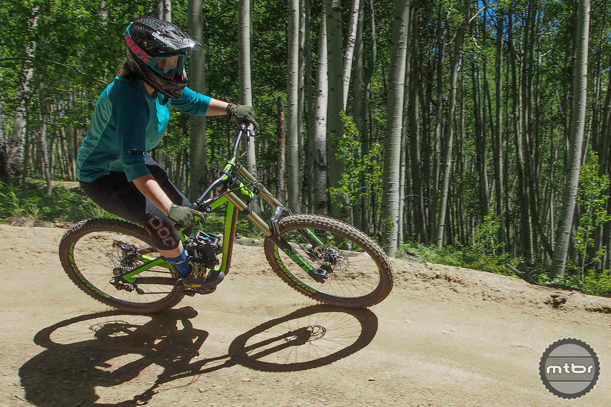 Even if you're new to the sport, the CBMR bike park has something to offer.