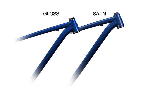 Satin black vs gloss black powder coat
