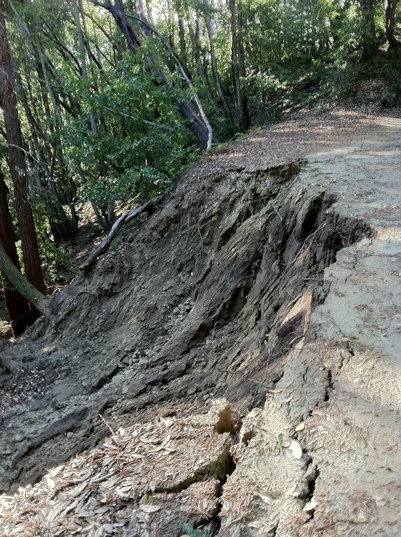 Demo Forest -- Highland Way Access Road Closed  w/ Mudslide-cell-phone-pics-013.jpg