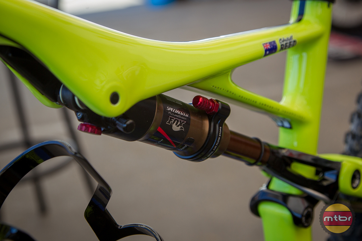 Chad Reed MTB Shock