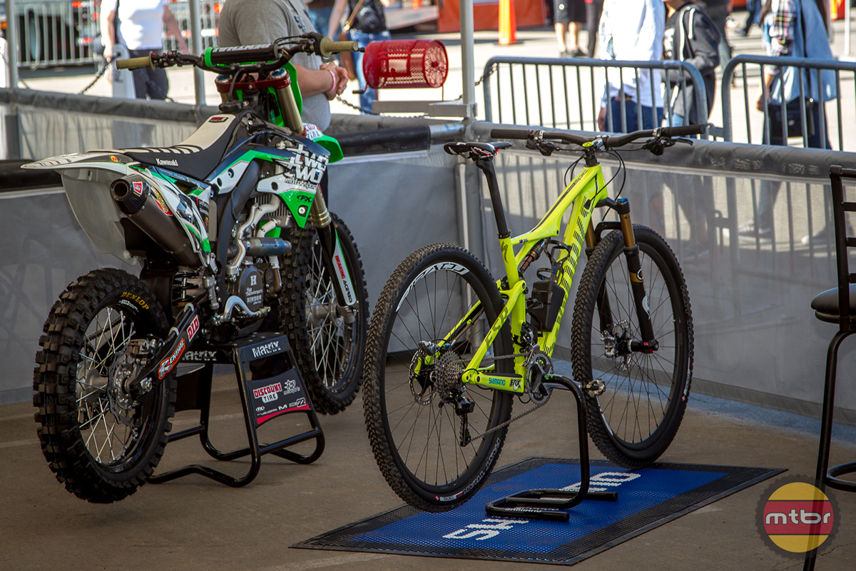 Chad Reed MTB - S-works Kawi