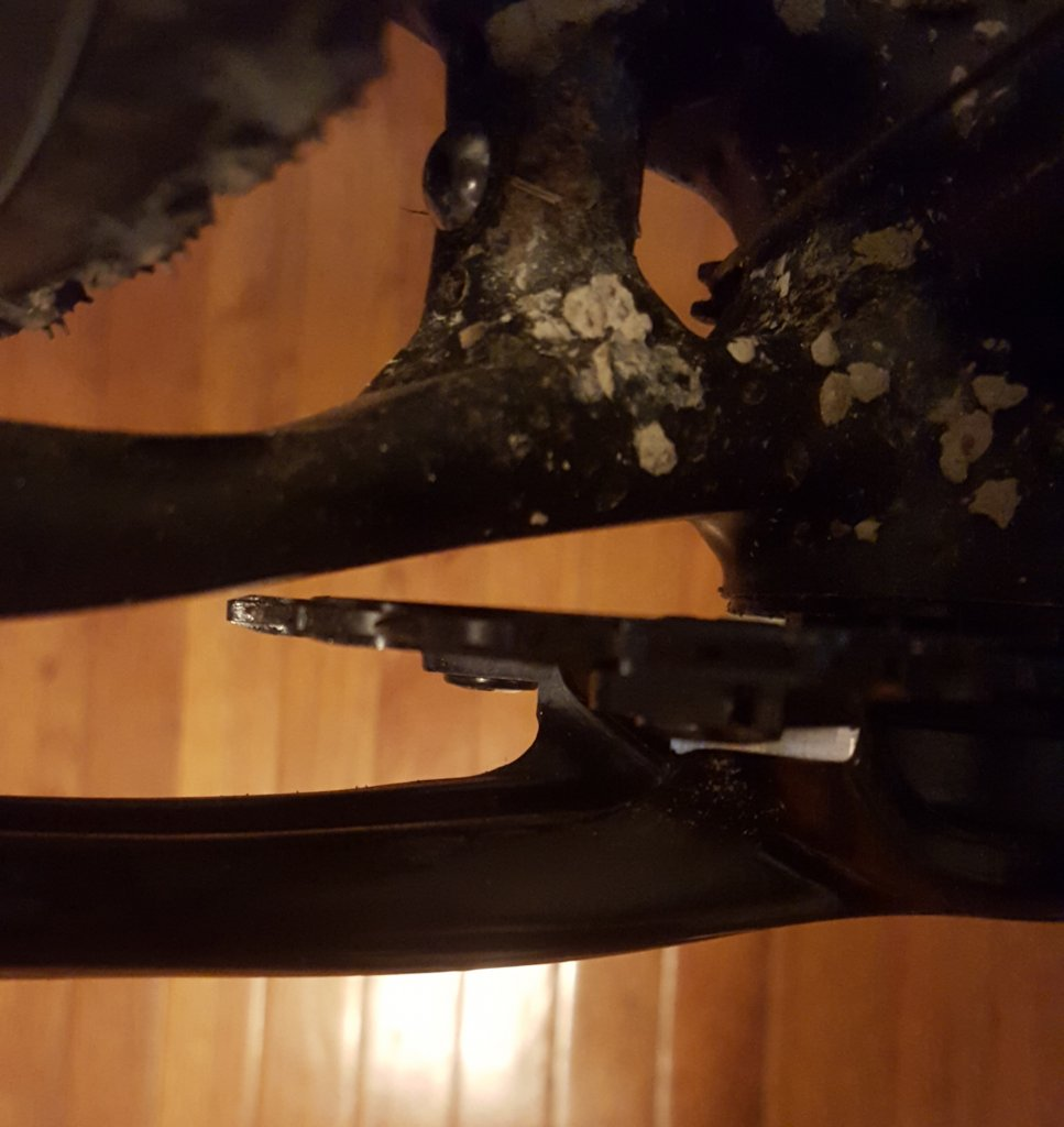 Sram Force CX1 Crank or make single ring from double Crank-chainring.jpg