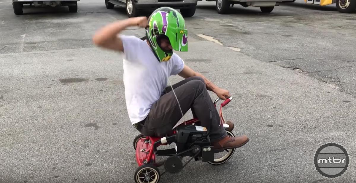 Chainsaw Trike